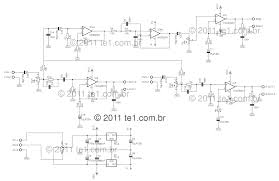 circuit power audio amplifier tda2030 2 1 3 x 18 watts suggested pcb for the circuit of the amplifier 2 1 or 2 1