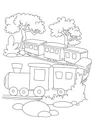 Small Picture free train coloring page printable train coloring pages for kids