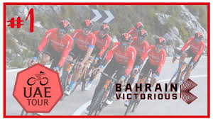 UAE Tour 2021 Stage 1 | Al Dhafra - Al Mirfa | Bahrain Victorious | Pro  Cycling Manager 2020 - YouTube