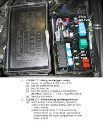 lexus how to reset your ecu clublexus option 2 pull efi and etcs fuse
