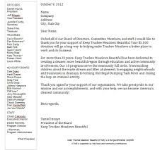 Thank You Letter For Charity Donation Letter Of Recommendation