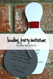 Bowling Party Invitation Bowling Party Invitations Dukes And Duchesses