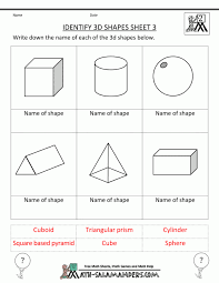 Shapessheet For Kindergarten Geometric Shapesheets Shapes ...