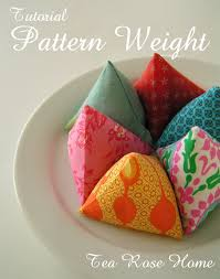 Pattern Weights Interesting Tea Rose Home Tutorial Pattern Weight With Free PDF Pattern