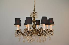 antique brass and crystal chandeliers