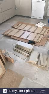 flat pack furniture. Flat Pack Furniture - Stock Image