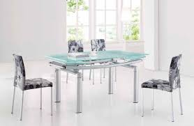 dining room sets las vegas. Ultra Glass And Tube Extendable Dining Room Set Sets Las Vegas
