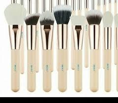 natural goat hair makeup brush set eye