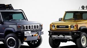 Suzuki Had Us Going Ga-Ga With A Jimny Pickup Truck And SUV Concepts ...
