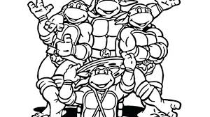 Free Printable Ninja Turtle Coloring Pages Bold Ideas Free Printable
