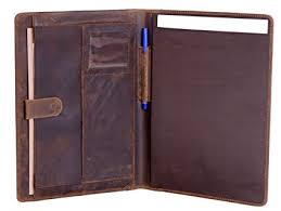 Leather Resume Portfolio