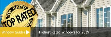 Window Brand Comparison Chart Highest Rated Windows For 2019 Window Price Guides