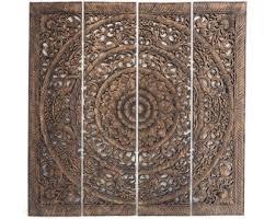 custom carved wood wall art