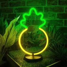 Pineapple Light Pineapple Led Neon Table Light