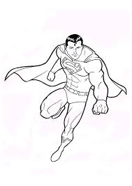 Small Picture Superman Coloring Page chuckbuttcom