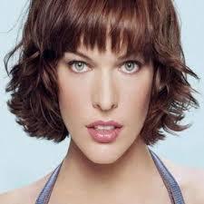 الوجه النحيف قصات شعر قصير للوجه الطويل