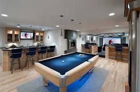 basement ideas for men.  Men This Man Cave Has A Focus On Entertainment Brilliant Recessed Lighting  Creates Stylish Look And Modern Appeal The Flooring Holds Depth While  On Basement Ideas For Men