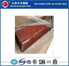 corrugated sheet metal roofing used steel plates in china