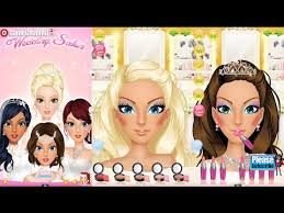 wedding salon make up dress up videos games for kids s baby android İos libii free 2016