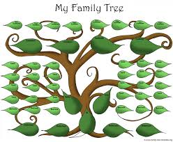 Blank Cousin Chart 035 Children Family Tree Template Unique Ideas Free