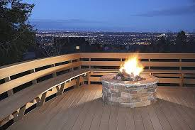 wood burning outdoor fire pits best of wood yard deck with firepit hd wallpaper photographs