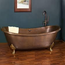 image of dream home copper bathtub