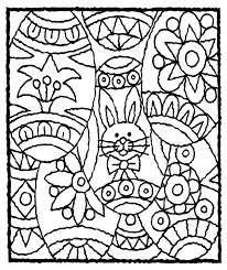 Free Adult Easter Coloring Pages Happy Easter Thanksgiving 2018