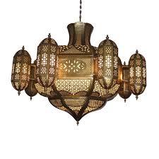 am20806 brass chandelier