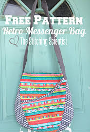 Free Bag Patterns- Oval Messenger Bag | The Stitching Scientist & IMG_3692 with ID Adamdwight.com