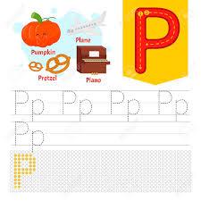 Handwriting Practice Sheet Basic Writing Educational Game For