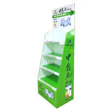 Display Stand Hs Code LED Floor Paper Display Counter Display Stand Cardboard Display 83