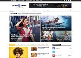 Wordpress Template Newspaper 25 Best Wordpress News Magazine Themes 2018