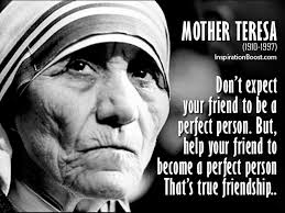 Mother Teresa's Quotes Cool Mother Teresa Friendship Quotes Inspiration Boost