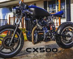 local customer in michigan and his cx500 with a bobber