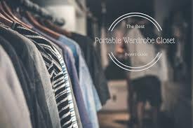 ten best portable wardrobe closet reviews for 2019