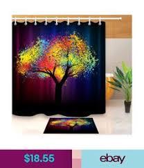 <b>Waterproof Shower</b> Curtain Digital Printing Polyester <b>Shower</b> ...