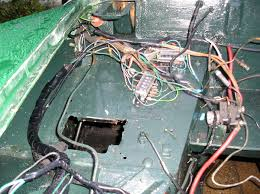 ignition switch not doing anything mg midget and sprite here s my birdsnest tidying in progress