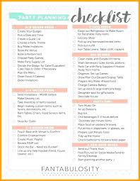 Grocery Checklist Birthday Checklist Template Planning Party Grocery List