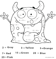 Math Coloring Pages Printable Free Free Printable Coloring