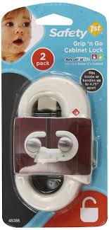 Safety 1st Cabinet Lock Amazoncom Safety 1st 2 Pack Grip N Go Cabinet Lock Home