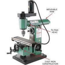 benchtop milling machine. mini horizontal/vertical mill   grizzly industrial benchtop milling machine