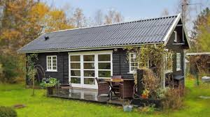 Small Picture Amazing Tiny Cottage Black and White Danish Summerhouse Small