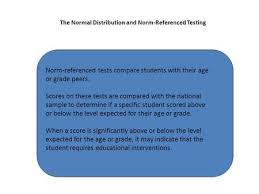 criterion referenced assessment comparing norm and criterion referenced tests essay academic writing