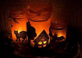 halloween party lighting. DIY Luminaries Halloween Party Lighting