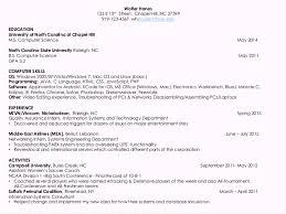 Michael Zlatkovsky Resume Photo Gallery Of Technical Skills Resume