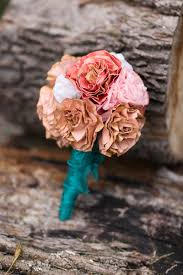 Paper Flower Bouquet For Wedding Diy Paper Flower Bouquet United With Love