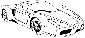 Sports Cars Coloring Pages Pdf Coloring Pages Best
