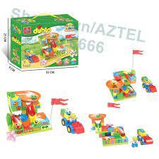 Lego Cầu Trượt Siêu Tốc, Ghép Hình Bi Lăn, Xếp Hình Cho Bé 3 Tuổi, 56 Miếng  Ghép Lớn. tại