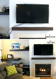 mounting tv above fireplace hiding wires best way to hide wires mount tv above brick fireplace hide wires