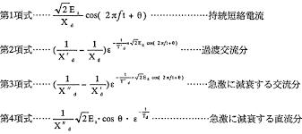 短絡 電流 計算